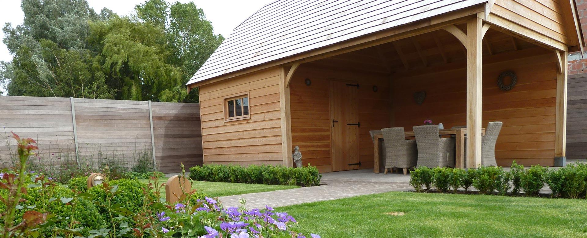 Carports Houten Bijgebouwen En Moderne Tuinhuizen Op Maat