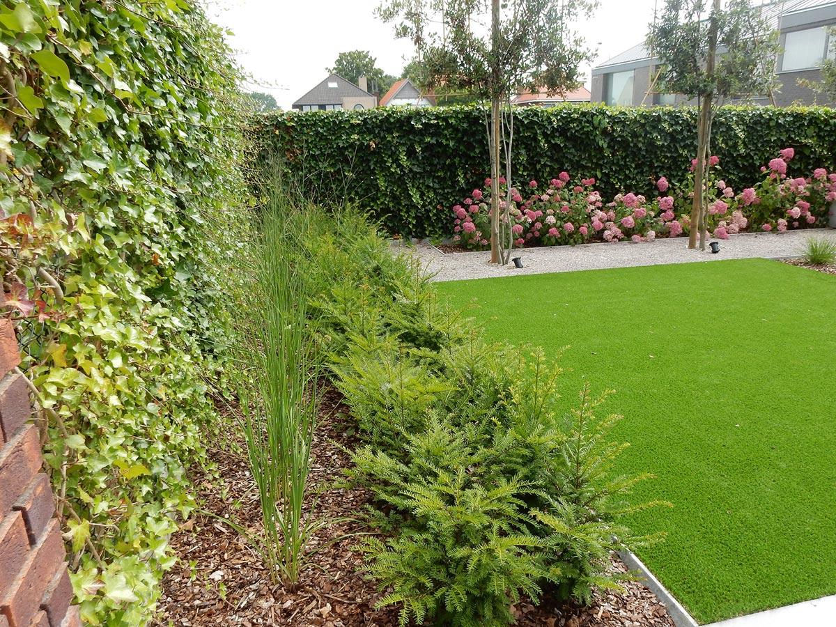 Wonderbaar Strakke tuin met weinig onderhoud. YF-85